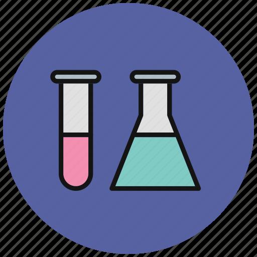 chemical, chemistry, chemistry set, science, set, test, tube icon