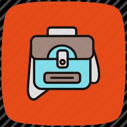 bag, business, ecommerce, marketing, portfolio, shopping, suitcase icon