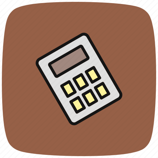 accounting, calculating, calculation, calculator, device, math, technology icon