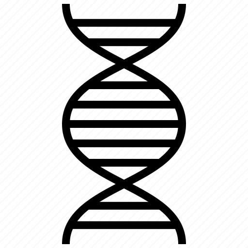 biology, dna, dna strand, hospital, medical, research, science icon