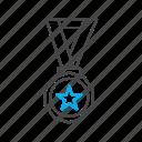 award, education, medal, prize icon