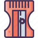 pencil, school, shrinlk, student, teacher, tool, writing icon