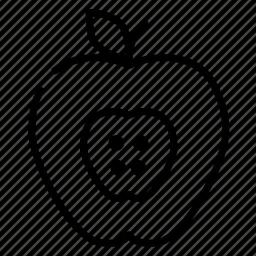 apple, food, fruit, healthy, idea, meal icon