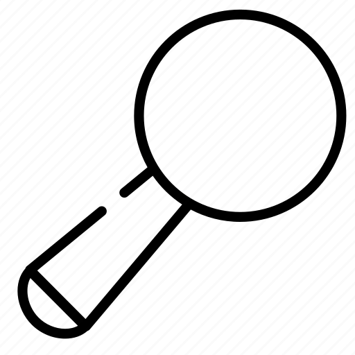glass, magnifying, research, search, study icon