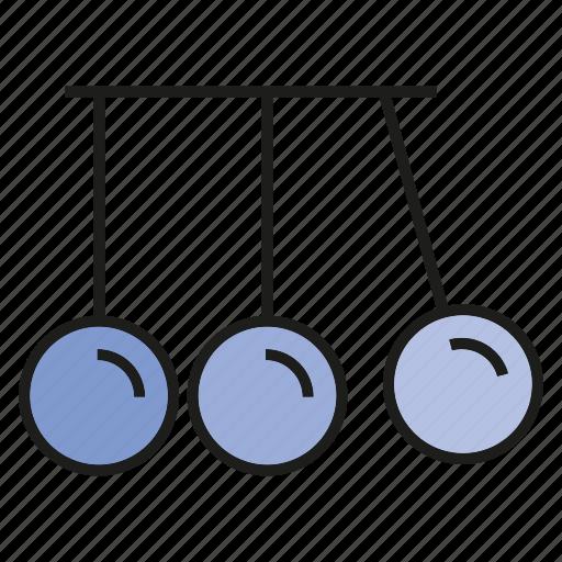 experiment, momentum, pendulum, physics, plummet, swing icon