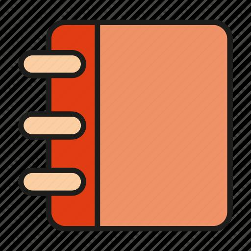 book, note book, read icon