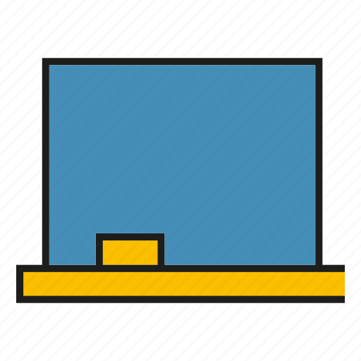 black board, learn, study icon