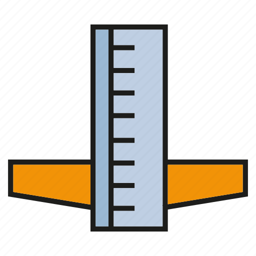 measure, ruler, scale, size, stationery, tool icon