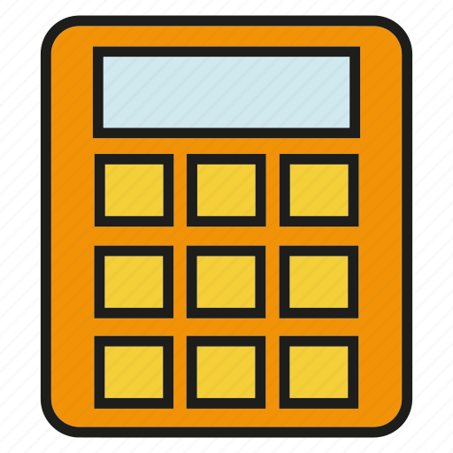 calculator, compute, electronic, math icon