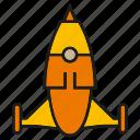 fly, launch, rocket, sky