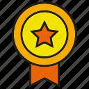 award, badge, emblem, hornor, prize, star, winner