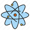 atom, chemistry, molecule, particle, science icon