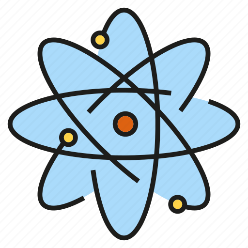 atom, chemistry, molecule, particle, science icon