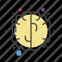 biology, brain, genius, idea, science icon