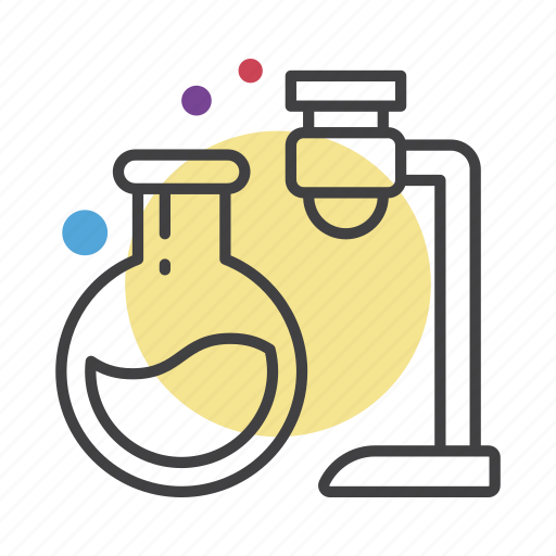 chemisrty, experiment, science, test tibe icon