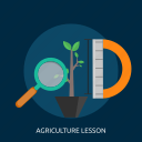 agriculture, eco, lesson, natural, science icon