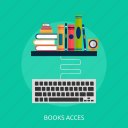 acces, book, books, education, library, school, study