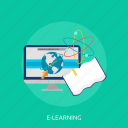 school, elearning, study, book, learning, online, education