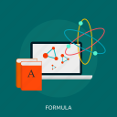 chemical, chemistry, formula, laboratory, science icon