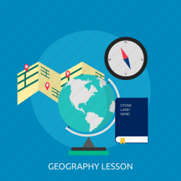 education, geography, geopgraphy, globe, lesson, map, world icon
