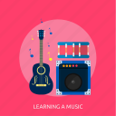 audio, learning, media, music, play, player, sound icon