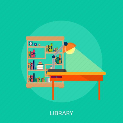 book, books, education, library, school icon