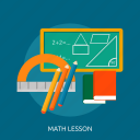 calculate, calculator, education, lesson, math, school, study icon