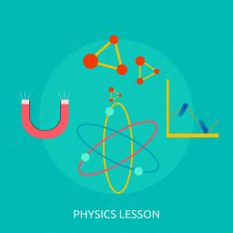atom, education, energy, lesson, physics, science icon