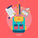 school, study, book, learning, desk, education