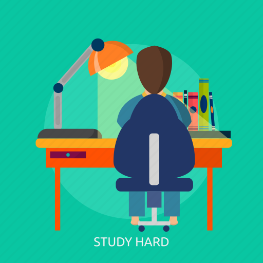 book, brainstorming, education, hard, learning, school, study icon