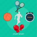 ball, education, game, school, sport, study icon