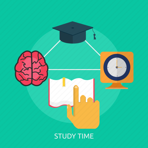 clock, education, study, time, timer, watch icon