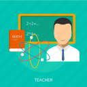 classroom, education, professor, room, school, teacher icon
