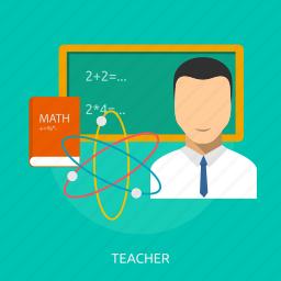 classroom, education, professor, room, school, teacher icon