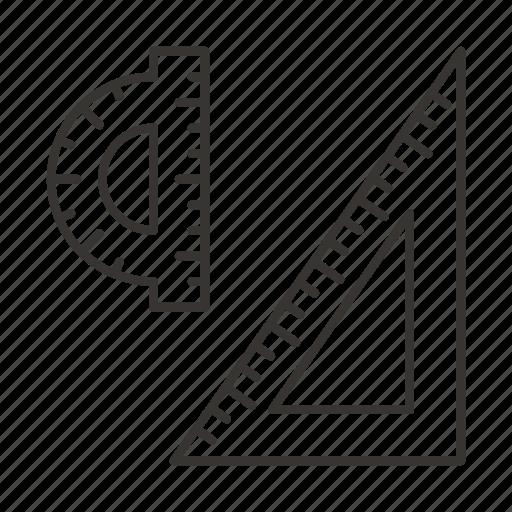 arrow, design, education, geometry, shape, triangle icon