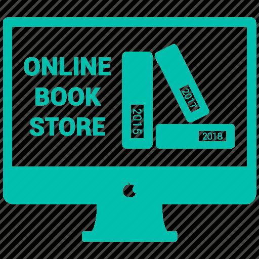 book, online book, online book store, online library icon