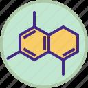 atom, chemistry, formula, laboratory, medicine, molecule, science icon