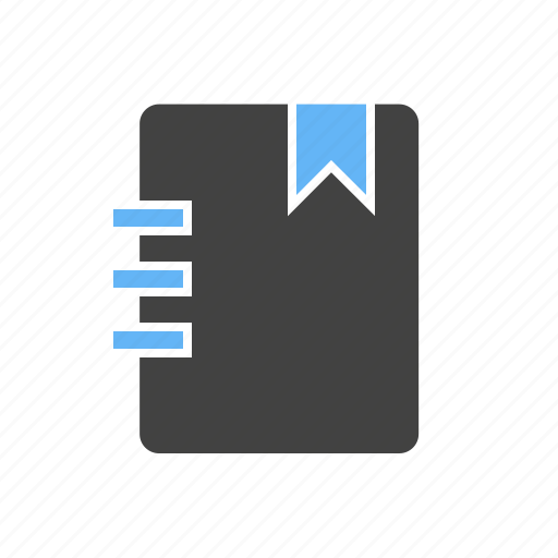 book, document, note, notebook, notepad, page, paper icon