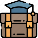 bag, breifcase, education, equipment, smart, teachers icon