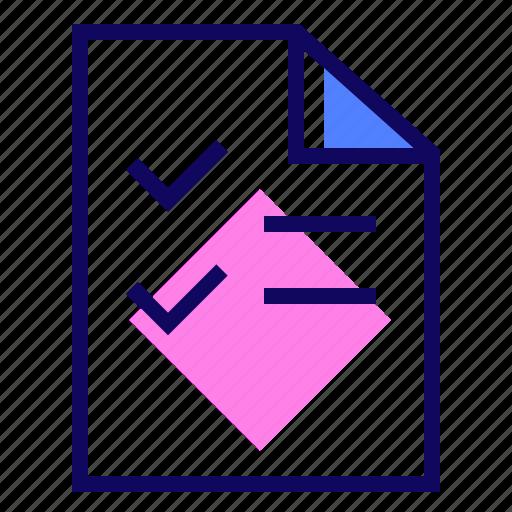Check list, exam, plan, test icon - Download on Iconfinder