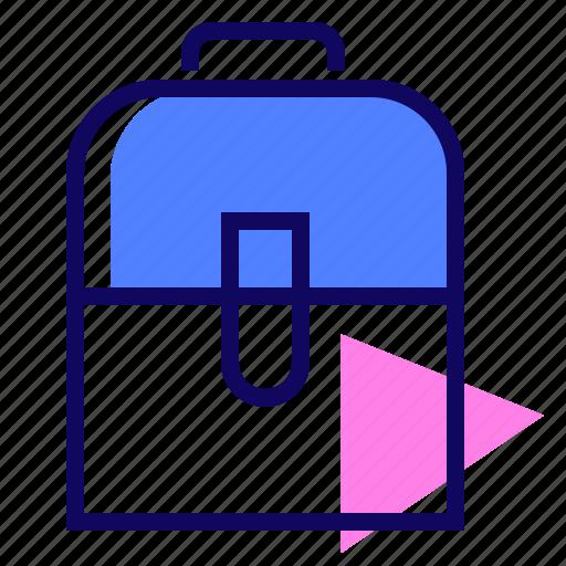 Backpack, bag, case, school icon - Download on Iconfinder