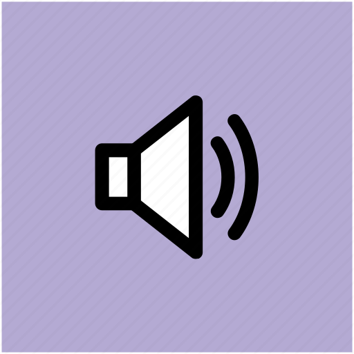 audio, loud, music, sound, speaker, volume icon