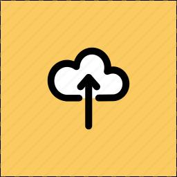 cloud, cloud computing, cloud uploading, storage cloud, upload icon