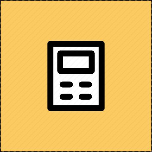 calculator vector illustration icon