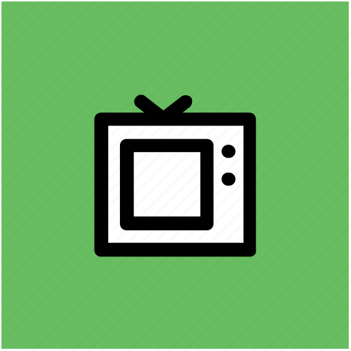 electronics, retro tv, television, television set, tv, tv set icon