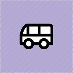 autobus, bus, coach, motorbus, school bus, transport, vehicle icon