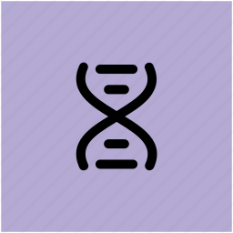 dna, dna helix, dna molecules, dna strand, dna structure, genetic cell icon