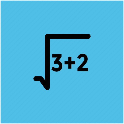 basic maths, calculate, education, knowledge, math class, math sum, primary school icon