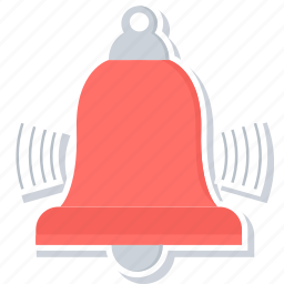 bell, halftime, notification, ringing, school bell, sound icon