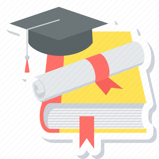 certificate, degree, diploma, education, graduation, student icon